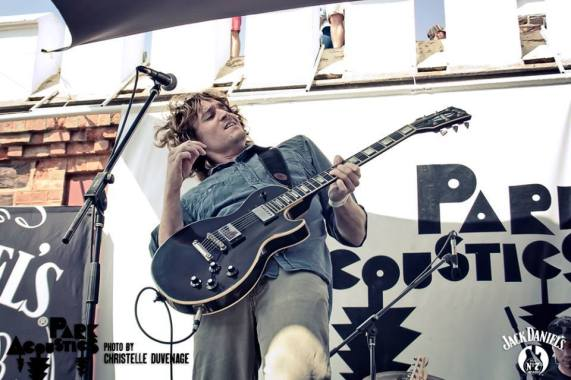 Aidan Martin & band (live at Park Acoustics 2014). Photo Credit: Christelle Duvenage