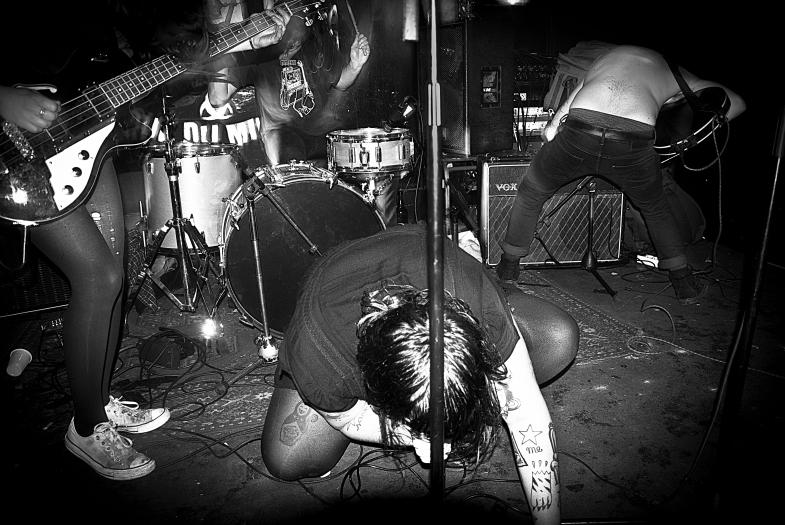 JC Satan, live (photo credit: Isadora Tripodo)